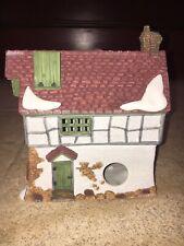 The Mermaid Fish Shoppe Shop Dept 56 Heritage Dickens Christmas Village 1988