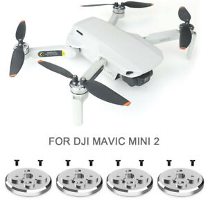 4 *New Aluminum Motor Cap Protector Anti-Dust Cover For DJI Mavic Mini 2