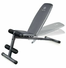 Adjustable Slant Workout Weight Bench, Weider XR 5.9 with 4 Roll Leg - FREE SHIP