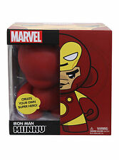 "IRON MAN - 7"" Munnyworld Marvel DIY Vinyl Figurine (Kidrobot) #NEW"