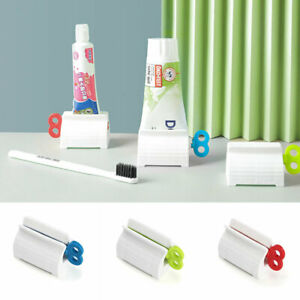 Manual Toothpaste Squeezer Facial Cleanser Rolling Holder Squee Clip Home Supply