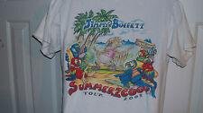 Jimmy Buffett Parrot Party 2009 Tour Shirt Size Medium Concert Margaritaville