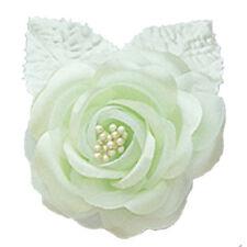 "12 silk roses wedding favor flower corsage mint green 2.75"""