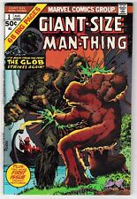 GIANT-SIZE MAN-THING #1 (VF+) Classic Marvel Horror Issue! Mike Ploog Art! 1974