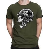 Meat is Murder Herren Fun T-Shirt - War Krieg Vietnam Rock Hard - PAPAYANA