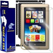 ArmorSuit MilitaryShield Barnes & Noble NOOK Tablet Screen + Black Carbon Skin