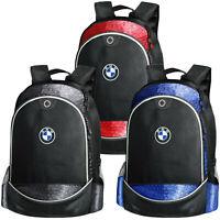 BMW Sac à Dos Logo Brodé Auto Moto Voiture Homme Femme Fibre t shirt Accessoires