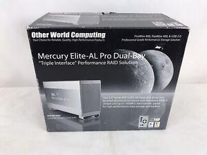 Other World Computing Mercury Elite-Al Pro Dual-Bay External Hard Drive (A6)