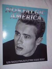 NOSTALGIC AMERICA MAGAZINE JAMES DEAN COVER