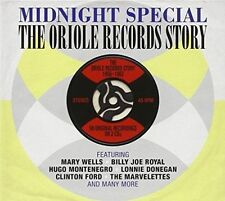 MIDNIGHT SPECIAL THE ORIOLE RECORDS STORY - 2 CD SET. NEW