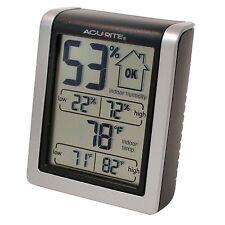 Egg Hatching Incubator  Digital Thermometer Hygrometer Humidity Monitor MIN MAX
