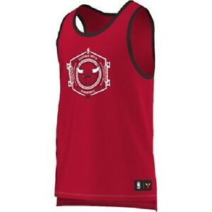 CHICAGO BULLS ADIDAS BASKETBALL TANK TOP (RED)