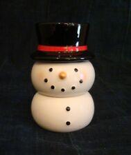 Hallmark Porcelain Candle Holder - Stacking Snowman holds Votive Candles