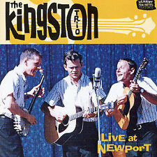 THE KINGSTON TRIO - LIVE AT NEWPORT NEW CD