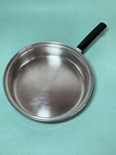 """Montgomery Wards Signature Prestige 18-8 Tri-Ply Stainless 10 1/2"""" skillet pan"""