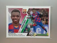 Ansu Fati 13 BIS FC Barcelona Rookie Sticker Liga Este 2019 2020