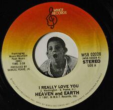 Modern Soul 45~Heaven And Earth~I Really Love You / Kick It Out~WMOT