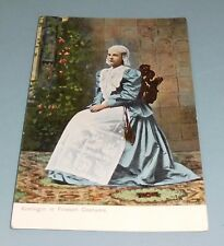 Postcard Vintage - Queen Wilhelmina of Netherlands in Costume 1906 - Unposted