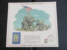 Iwo Jima USPS Souvenir Sheet & Stamp