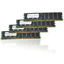 4GB 4x 1GB DDR 400 Ram Speicher PC3200 Samsung Computer Arbeitsspeicher 1024 MB