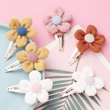 1 Flower Baby Girl Hair Clips Princess Kids Barrettes Hairpins Hair Accessories