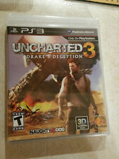NEW Uncharted 3 Drake's Deception (Sony PlayStation 3, 2011) PS3 Factory Sealed