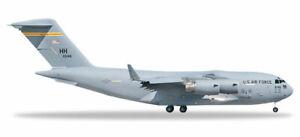 Herpa Wings 531665 C-17A 535th AS 'Spirit of Hawai'i-Ke Aloha' 1/500 Scale Model