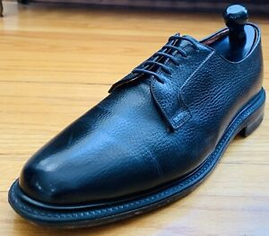 Worthmore by Florsheim Imperial 976390 Pebbled Calf Derby Shoes 11D Vintage