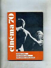 CINÈMA 70-Le Guide Du Spectateur N. 144#Federation Francaise des Cinè Clubs 1970