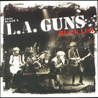 PAUL BLACK'S L.A. GUNS: BLACK LIST CD SLEAZE HARD ROCK TRACII GUNS OUT OF PRINT