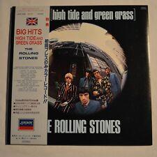 ROLLING STONES - Big hits -1982 JAPAN LP BLUE COLOR Vinyl