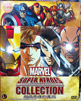 Marvel Super Heroes Collection (X-Man, Iron Man, Wolverine, Blade) ~ All Region