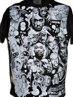 Time Is Money 2pac t-shirt da uomo, HIP HOP DI MARCA, rétro, T-shirt, rap, URBAN