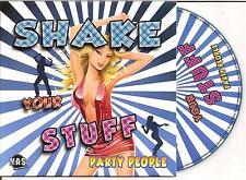PARTY PEOPLE - shake your stuff CD SINGLE 2TR Eurodance 2010 Holland