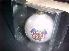 SUPERBOWL XXXI PROTO TYPE CHRISTMAS BALL