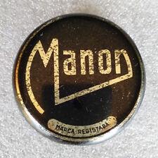 ULTRA RARE Vintage Antique Grease ✱ MANON ✱ Shoe Polish Tin Can Portugal 60´s