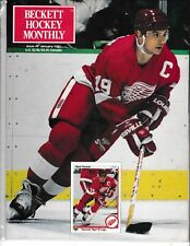 Beckett Hockey Magazine, Issue #3 January 1991 Steve Yzerman On Cover