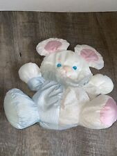 Fisher Price Puffalump Puppy Mouse W/rattle Pink Blue White no foot logo