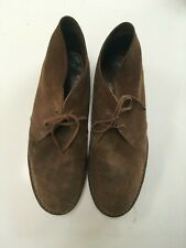 J. Crew Suede Desert Chukka Boot Red Sole Size 13 Made in Italy