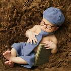 Newborn Photography Props Baby Boy Gentleman Set Costume Clothing Studio Shoot