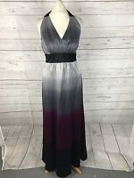 Women's MONSOON Halter Neck Evening Dress - Size UK10 - Great Condition