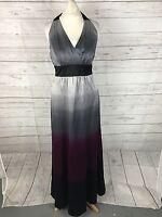 Women's MONSOON Halter Neck Evening Dress - Size UK10 - Great Condition