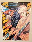 Chainsaw man power denji poster Size B2 Official goods Japanese comic Manga Boys