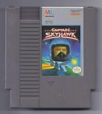 Vintage Nintendo  Captain Skyhawk Video Game NES Cartriage VHTF Rare