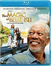 Magic of Belle Isle 0876964004886 With Morgan Freeman Blu-ray Region a