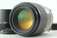 【Exc+5 w/ Hood 】 Nikon Micro Nikkor 105mm f2.8 Ai-S AIS Lens Macro F Mount JAPAN