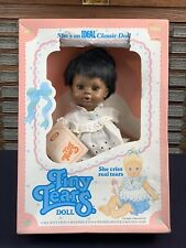 Vintage African American Tiny Tears Baby Doll 1983 1974 Ideal Toy Box
