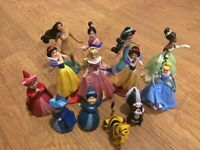 Large Bundle Of Disney Princess Figures/ Cake Toppers Fairy Godmothers Raja