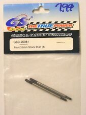 GS RACING #GS-25081 FRONT 3.5mm  SHOCK SHAFT (2) For GS RACING AVENGER BUGGY