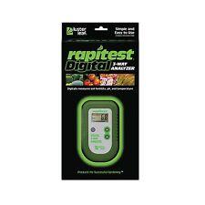 Rapitest 1835 Digital 3 Way Soil Analyzer Luster Leaf pH Fertility Therm Tester